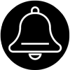 icon of a bell