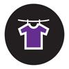shirt colored purple